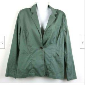 CAbi Womens Jacket Blazer Buttons Pockets